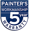 Canberra Painter 5 year warranty