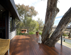 Canberra deck staining
