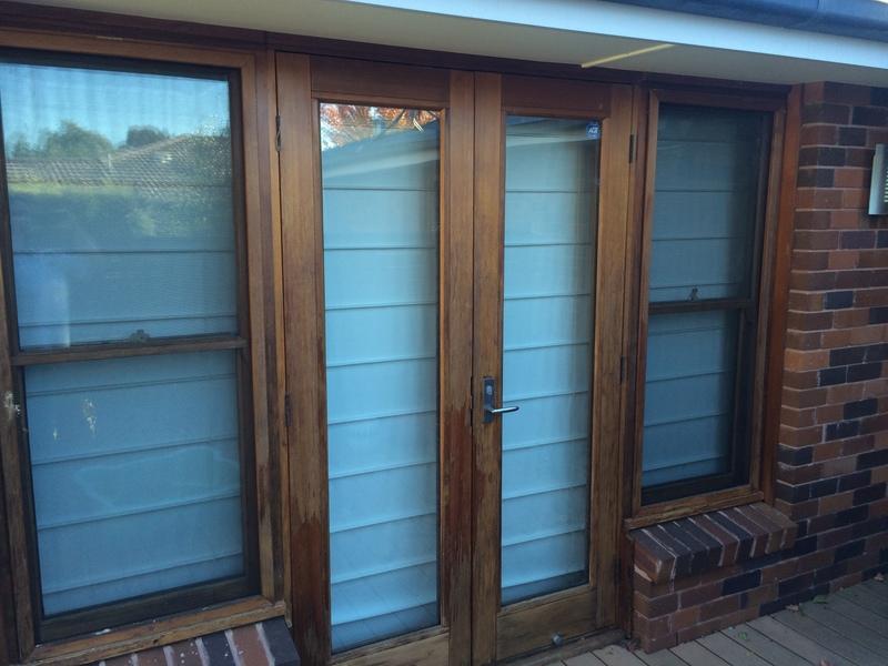 Cedar Windows Before